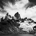 Mount Fitz Roy by Lorraine Kourafas