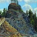 Mount Grace 1890 Apollinaris M Vasnetsov by Eloisa Mannion