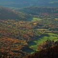 Mount Greylock Foliage View by John Burk