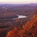 Mount Holyoke Foliage by John Burk