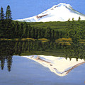 Mount Hood-trillium Lake by Frederic Kohli