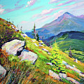 Mount Hoverla by Bohdan Saliy