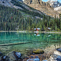 Mount Huber At Lake O'hara by Pierre Leclerc Photography