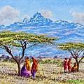 Mount Kenya 2 by Joseph Thiongo