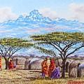 Mount Kenya 3 by Joseph Thiongo