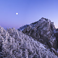 Mount Liberty Blue Hour by Chris Whiton