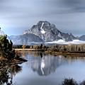 Mount Moran by Jim Moser