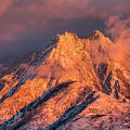 Mount Olympus Winter Sunset by Spencer Baugh