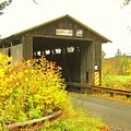 Mount Orne Covered Bridge by Wayne Toutaint