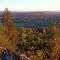 Mount Philo Foliage View by John Burk
