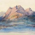 Mount Pilatus From Lake Lucerne, Switzerland by John Ruskin