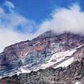 Mount Rainier Closeup by Marv Vandehey