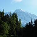 Mount Rainier Morning by Marie Leslie
