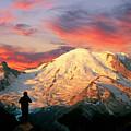 July In Washington, Mount Rainier National Park by Buddy Mays