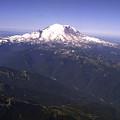 Mount Rainier Washington State by Merja Waters