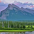 Mount Rundle by Frozen in Time Fine Art Photography