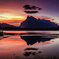 Mount Rundle Glorious Sunrise by Pierre Leclerc Photography