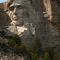 Mount Rushmoore Detail - Abraham Lincoln  by Christiane Schulze Art And Photography