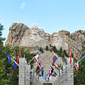 Mount Rushmore Entrance  8713 by Jack Schultz