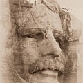 Mount Rushmore Faces Roosevelt by Barbara Henry