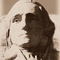 Mount Rushmore Faces Washington by Barbara Henry