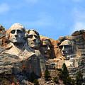Mount Rushmore In South Dakota by Susanne Van Hulst
