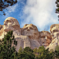 Mount Rushmore National Memorial In The Black Hills Of South Dakota  by Sam Antonio Photography