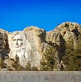 Mount Rushmore National Memorial by Susan Rissi Tregoning