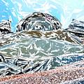 Mount Saint Auto Crush by Stan  Magnan