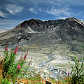 Mount Saint Helens Caldera by Rick Bures
