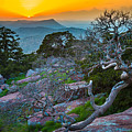 Mount Scott Sunset by Inge Johnsson