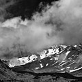 Mount Shasta In Black And White by Alexander Fedin