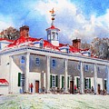 Mount Vernon After The Squall by Tom Harris