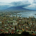Mount Vesuvius Naples It by Brett Winn