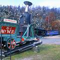 Mount Washington Cog Railway by John Burk