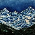 Mountain-2 by Tamal Sen Sharma