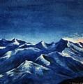 Mountain-4 by Tamal Sen Sharma