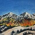 Mountain-5 by Tamal Sen Sharma