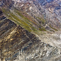 Mountain Abstract 1 by Hitendra SINKAR