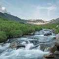 Mountain Alaskan Stream by Paul Quinn