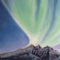 Mountain Aurora by Stanza Widen
