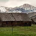 Mountain Barn by Debby Richards