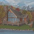 Mountain Cabin by TJ Word