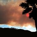 Mountain Fire Sunset by Stan  Magnan