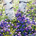 Mountain Flowers by Richard T Pranke