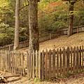 Mountain Graveyard by Debbie Burkhalter