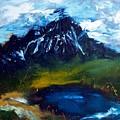 Mountain Lake by Lidija Ivanek - SiLa