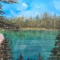 Mountain Lake by Martha Sanchez-Hayre