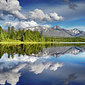 Mountain Lake With Reflection by Dmitry Pichugin