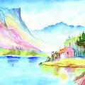 Mountain Lake by Xavier Francois